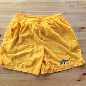 90's Vintage Champion Spell Out Shorts XL